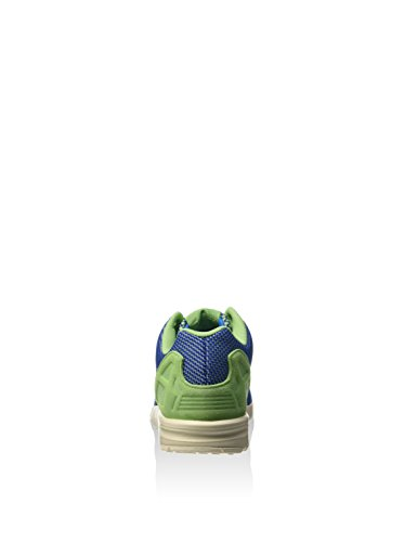 adidas ZX Flux Weave Green Blue White super green/power blue/chalk white