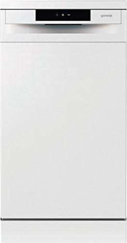 Gorenje GS 52010 W SmartFlex Essential/Freistehender Geschirrspüler/A++/9 Maßgedecke/197 kWh/Jahr/45 cm/Total AquaStop/weiß