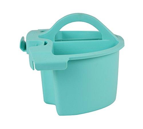 Bloom Modular Caddy für Eimer und flach Head Mop, blau Mop Caddy