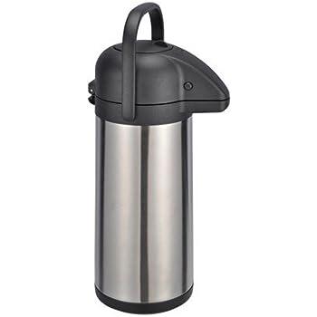 3 liter isolierkanne thermoskanne airpot edelstahl mit pumpfunktion k che haushalt. Black Bedroom Furniture Sets. Home Design Ideas