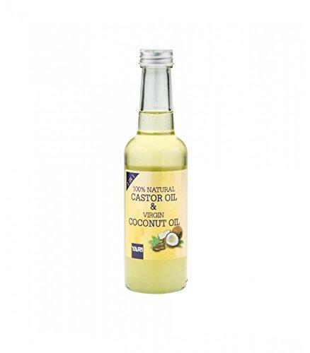 Rizinusöl & Kokosöl Schurwolle 2in1100% natürlichen (Castor Oil & Coconut Oil) 250ml