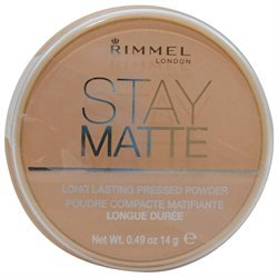 Rimmel Stay Matte Pressed Powder - Nude Beige (Pack of 2)