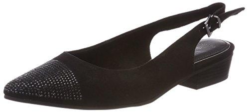 Marco Tozzi Ladies 29400 Sandali Con Tacco Nero (nero)