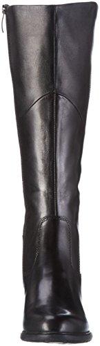 Tamaris 255 - Stivali Alti da Donna Nero (BLACK 001)