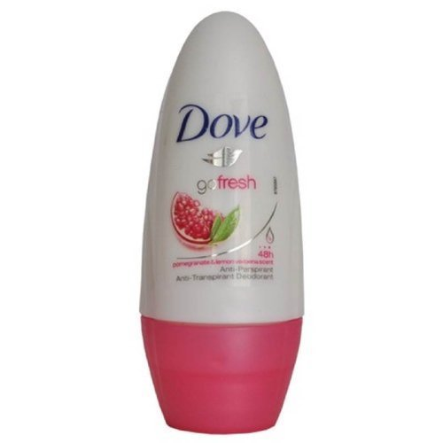 Dove Go Fresh roll Sur grenade 50ml - Pack de 4
