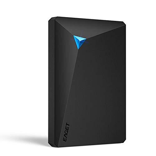 EAGET G20 Encryption 500GB 1TB 2TB 3TB USB 3.0 External Hard Drive for Laptop Desktop TV PC - 500g