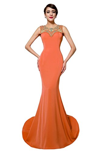 Promgirl House - Robe - Crayon - Femme Orange