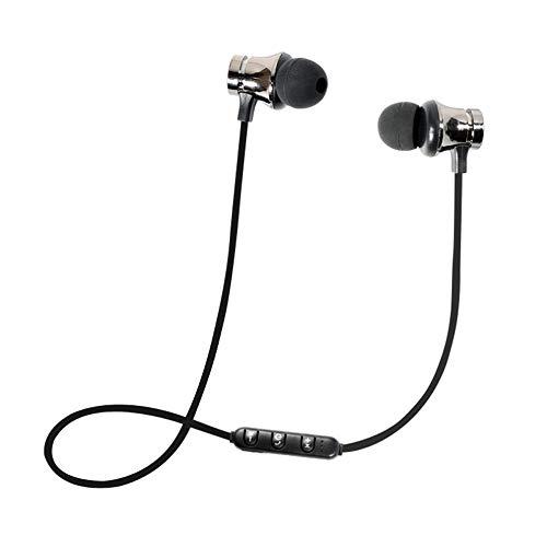 SYY In-Ear Sport-Kopfhörer Ohrhörer Schweißbeständig mit Stark Reflektierendem Kabel, Universal 3-Tasten-Fernbedienung/Mikrofon Kompatibel mit Android/iOS Smartphones und Tablets (Silber) - Tv Samsung 26