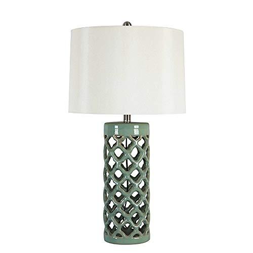 Stone & Beam-Keramik Geometrischer Cut-Out Tisch Schreibtischlampe - H 29,9 Inches -