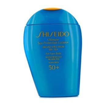 Shiseido Ultimate Sun Protection Face & Body Lotion SPF 50+ 100ml/3.3oz - Hautpflege -