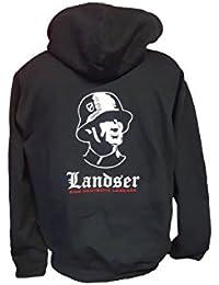 e4c1e020897bf8 BDS-Folientechnik Landser - Eine Deutsche Legende - Hoodie  Kapuzensweatshirt Pullover Motive