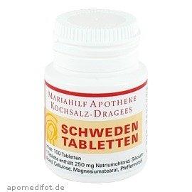 Schweden-tabletten 0,25 100 stk