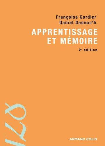 Apprentissage et mémoire