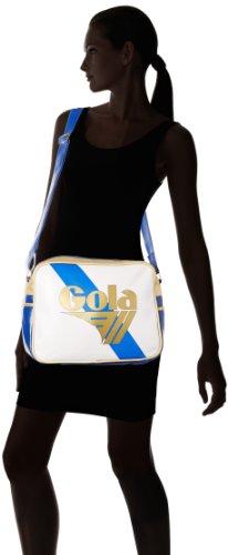 Gola Tracolla Redford Championship Bianco (White/Blue/Gold)