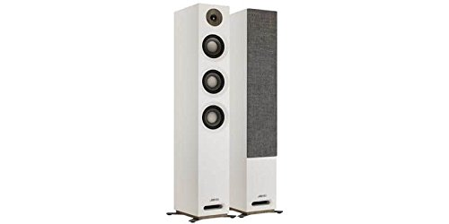 Jamo S 809240W White Loudspeaker-Loudspeakers (Wired, 240W, 37-26000Hz, 8Ohm, White) - Tower Ohm Lautsprecher 8