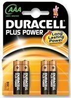 Duracell Plus Power Lot de 4 piles AAA