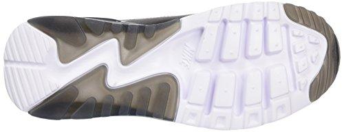 Nike Air Max 90 Ultra Essential, Chaussures de Running Compétition Femme Noir (Black/Black/Dark Grey/Pr Pltnm)