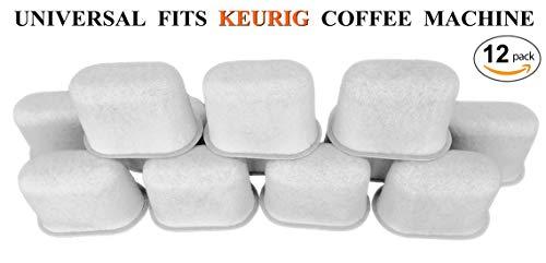 satz anthrazit Wasser Filter-Universal Fit Keurig Kaffeemaschine ()