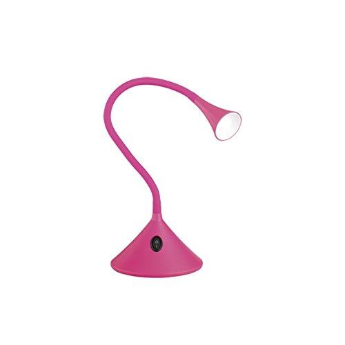 Lámpara de escritorio LED rosa Inspire o foco Pared
