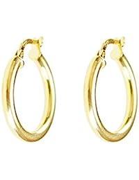 37d29b7073ff Amazon.es  Oro amarillo - Pendientes   Mujer  Joyería