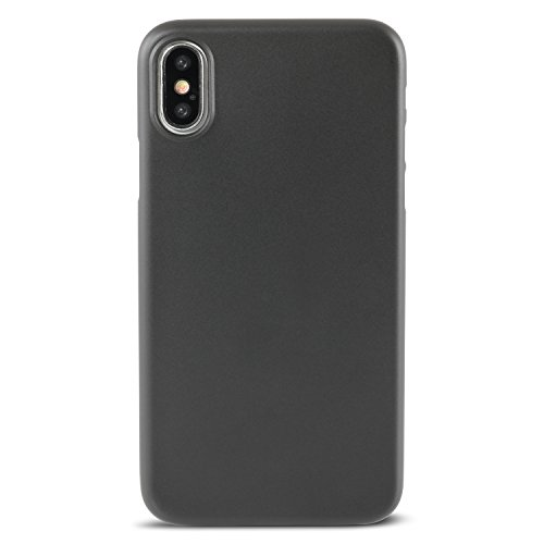 hardwrk ultra-slim Case für iPhone X - frost - ultradünne Hülle für Apple iPhone in matt klar solid black