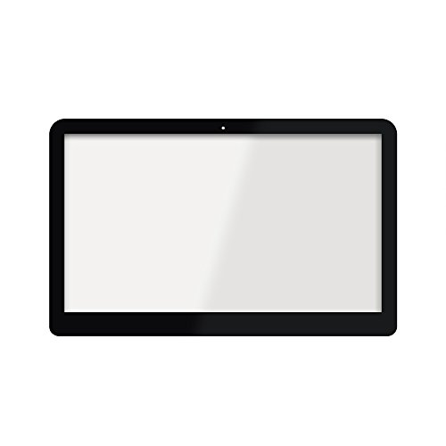 FTDLCD® 15.6 Zoll Touchscreen Digitizer vorder Glas Panel mit Rahmen für HP Envy X360 15-w102ng 15-w101ng 15-w030ng Touch Screen Digitizer Lens