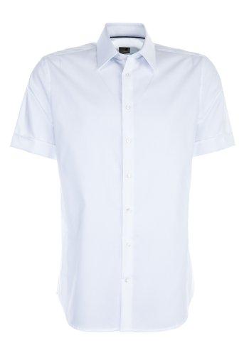 Seidensticker -  Camicia classiche  - Regular - Classico  - Maniche a 3/4 - Uomo Bianco