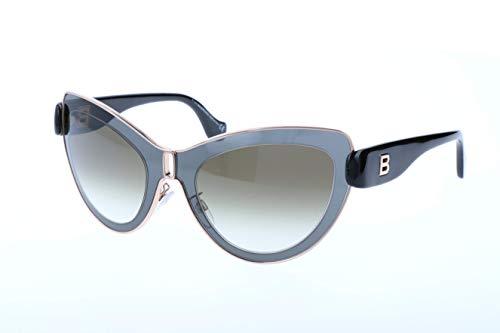 Balenciaga Damen Sonnenbrille, Black, 56