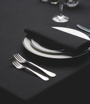 X Bettwäsche Tischdecke 90 90 Quadratische (Alle Weiß Bettwäsche schwarz Tischdecke, quadratisch, 90x 90cm)