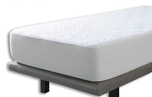 Cubrecolchon Microfibra Aloe Vera Reversible cama de 90x190/200 de Velfont