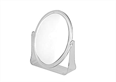 Double Sided Revolving Magnified Mirror Great For Applying Makeup & Shaving