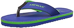 Airwalk Boys Flip Flop Blue Synthetic Flip-Flops and House Slippers - 11C UK