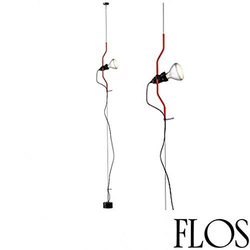 Flos parenthèse Dimmable Lampe suspension rouge f5600035 Ampoule LED incluse