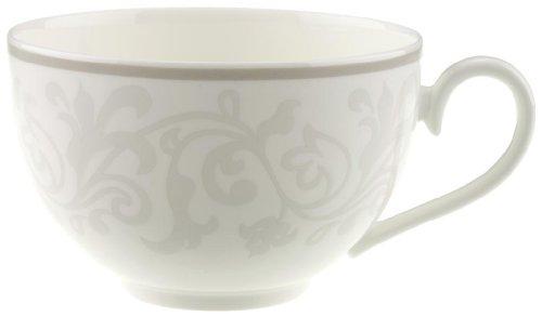 Villeroy & Boch 10-4392-1240 Gray Pearl Frühstückstasse, Porzellan Tasse Pearl