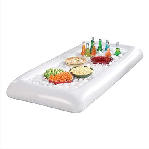 bare Bierkühler Tisch Pool Schwimm Sommer Wasser Party Luftmatratze Eiskübel Service / Salat Bar Tray ()