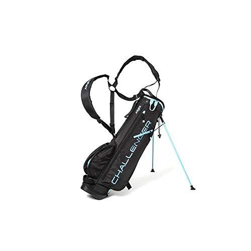 Challenger Golf Stand Bag Super Leichte Tragebag 4 Facher Divider (Navy/Blue)