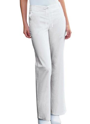 Cherokee Uniforms Studio B Fashion Flare Leg Pant (White M) [Apparel] - Cherokee Flare Uniform