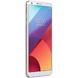 LG G6 Smartphone, Display QHD FullVision 5.7 pollici formato 18:9, Doppia Fotocamera Grandangolare da 13 MP, RAM 4 GB, Memoria Interna 32 GB espandibile fino a 2 TB, Resistente all'acqua, Bianco [Italia]
