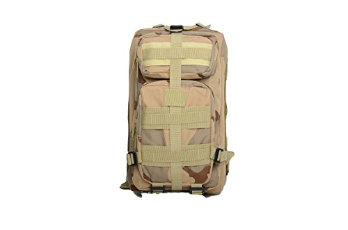Sport Outdoor Military Rucksack Tactical 3D Rucksack Camping Wandern Trekking Tasche Custom Design 40L hautfarben