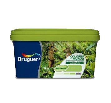 Bruguer-Pintura Colores del mundo Amazonas matiz de verde 4L