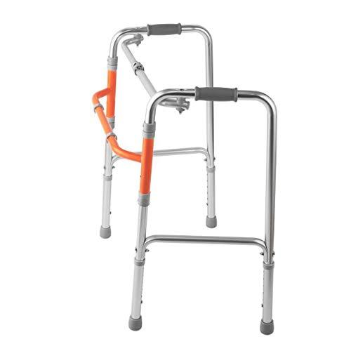 Zfggd Ayuda para Caminar de Edad Avanzada, Andador de Cuatro Patas, se Pueden Plegar Las muletas
