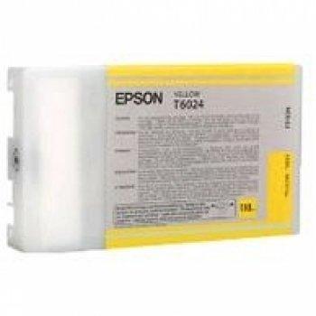 Epson T6024 Cartouche d'encre d'origine Jaune (110Ml)