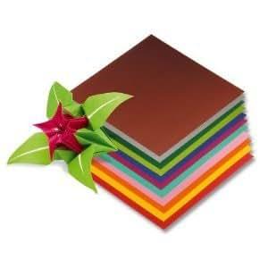 Faltblätter, 10x10 cm, 500 Stück, 10 Farben [Spielzeug]