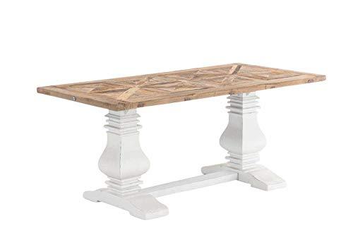 CLP Esszimmertisch TABOA aus Holz | Handgefertigter Holztisch im Landhausstil | In verschiedenen...