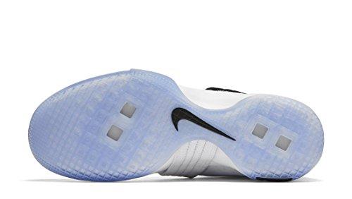 Nike Herren Lebron Soldier 10 Sfg Basketballschuhe, Weiß / Silberfarben Metallisch Weiß