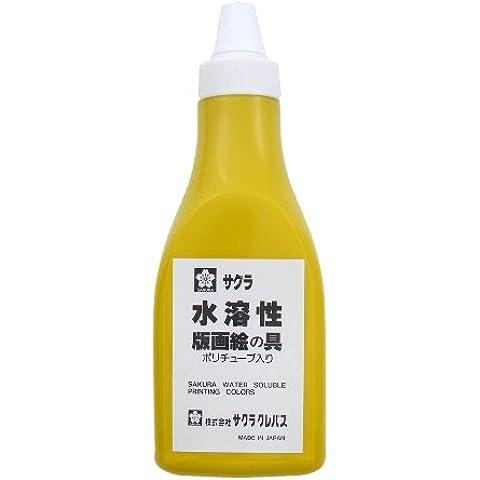 Stampe Sakura colore solubile in acqua vernice 400g di ingresso del tubo poly AWH400PT giallo # 3 (japan import)