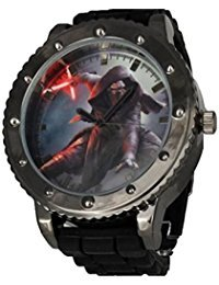 Star Wars Episode VII The Force Awakens Kylo Ren Men's Watch SWM1105