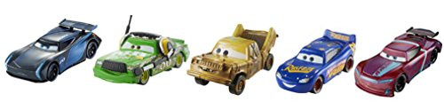 Cars Disney Pixar 3 - Pack of 5 vehicles (Mattel FGR91)