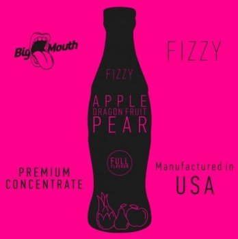 Big Mouth Fizzy Aroma Apple Dragonfruit Pear 10ml von Big Mouth