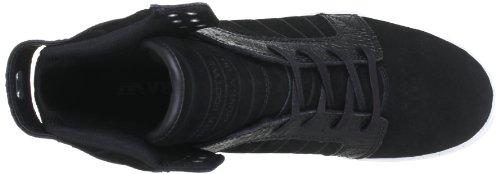 Supra Skytop S18091, Baskets mode homme Noir-TR-F5-73